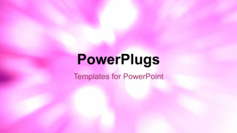 PowerPoint Template - An abstract flare background